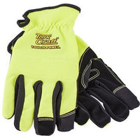 GLOVE YELLOW WITH PU PALM SIZE MEDIUM  MULTI PURPOSE - Power Tool Traders