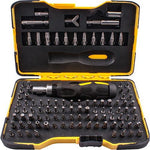 SCREWDRIVER INSERT BIT SET 101 PCE IN STORAGE CASE ALL BIT TYPES INCLU - Power Tool Traders