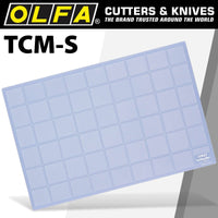 OLFA CUTTING MAT 300 X 450MM TRANSLUCENT - Power Tool Traders