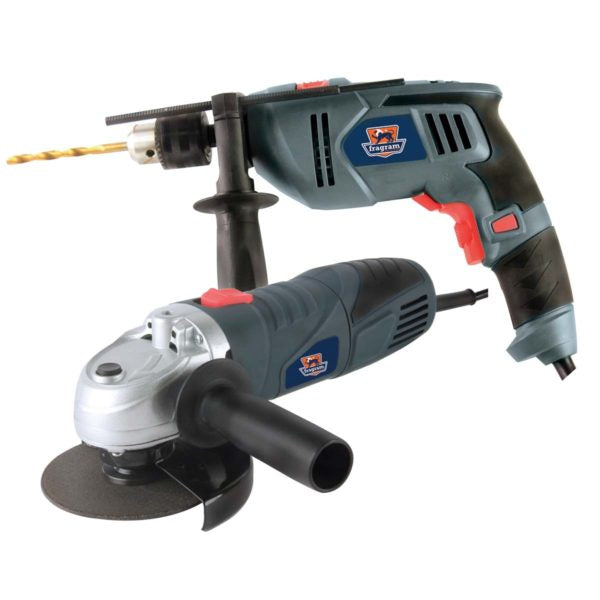 DRILL/IMP 500W- A/GRINDER 650W - Power Tool Traders