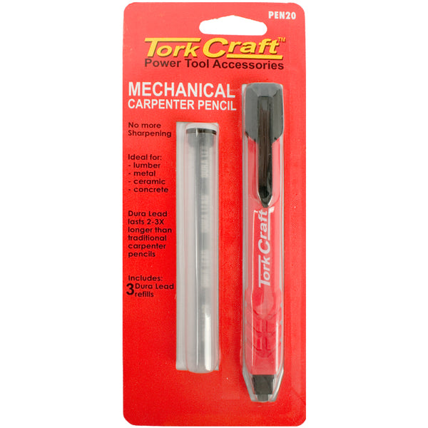 TORK CRAFT MECHANICAL CARPENTERS PENCIL WITH REFILL - Power Tool Traders
