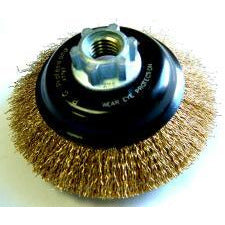 WIRE CUP BRUSH HI SPEED 100X14MM - Power Tool Traders