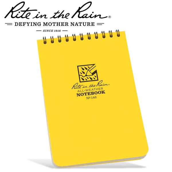 RITE IN THE RAIN 4'X6' NOTEBOOK YELLOW - Power Tool Traders