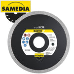 DIAMOND BLADE 115MM CONTINIOUS IND PORCELAIN & CERAMICS MASTER KCM - Power Tool Traders