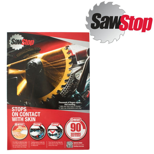 SAWSTOP PRODUCT BROCHURE - Power Tool Traders