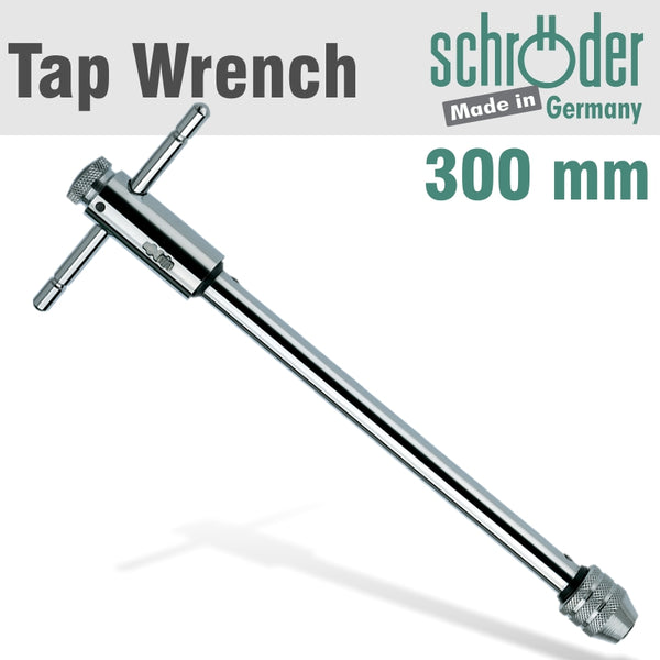 RATCHET TAP WRENCH 300MM M5-12 - Power Tool Traders