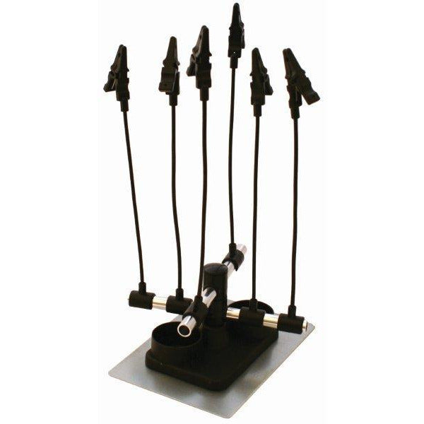 AIRBRUSH HOLDER WITH 6 CLIPS - Power Tool Traders