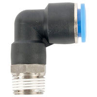 ELBOW 12MM-3/8 M PU HOSE FITTING - Power Tool Traders