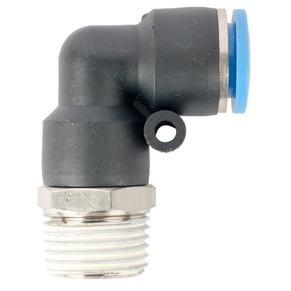 ELBOW 12MM-1/2 M PU HOSE FITTING - Power Tool Traders