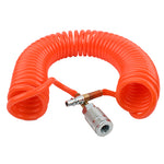 SPRIAL HOSE 7.5MX8MM W/ARO QUICK COUPLER - Power Tool Traders