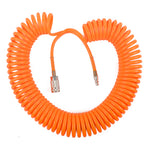 SPIRAL HOSE 15MX8MM W/ARO QUICK COUPLER - Power Tool Traders