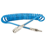 SPIRAL POLYP HOSE 4M X 8MM WITH QUICK COUPLERS BX15PU4-5 - Power Tool Traders