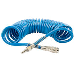 SPIRAL POLYP HOSE 8M X 12MM WITH QUICK COUPLERS - Power Tool Traders