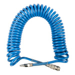 SPIRAL POLYP HOSE 12M X 10MM WITH QUICK COUPLERS - Power Tool Traders