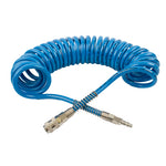SPIRAL POLYP HOSE 12M X 12MM WITH QUICK COUPLERS - Power Tool Traders
