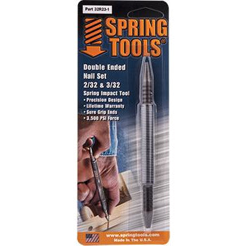 SPRING TOOL COMBINATION 2/32' & 3/32' NAIL SET - Power Tool Traders