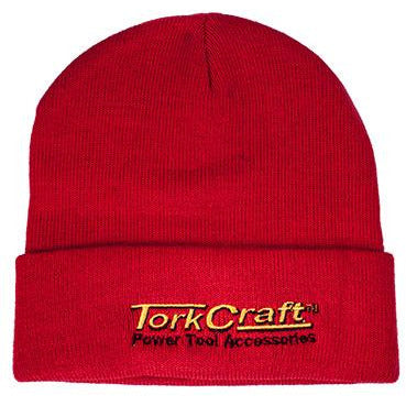 TORK CRAFT BEANIE RED - Power Tool Traders