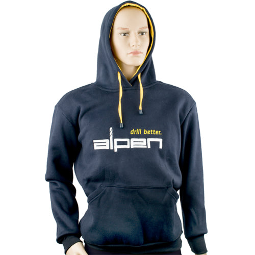 ALPEN HOODY NAVY LARGE - Power Tool Traders