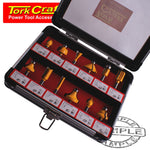 ROUTER BIT SET 12PC/ALU.CASE 1/4' - Power Tool Traders