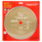 DIAMOND BLADE CONT.RIM THIN KERF 230X22.22MM - Power Tool Traders