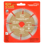 DIAMOND BLADE 10MM SEG FOR CUTTING BUILDING MATERIALS 115MM 22X23MM - Power Tool Traders