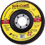 FLAP DISC 115MM 15 DEG.ANGLE 80GRIT - Power Tool Traders