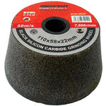 GRINDING WHEEL 110X58 M22 BORE - BOWL#36 - ANGLE GRINDER - Power Tool Traders