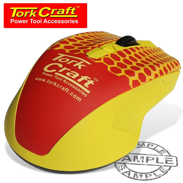 TORK CRAFT WIRELESS MOUSE IN COLOUR BOX - Power Tool Traders