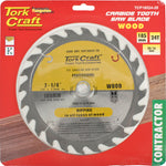 BLADE CONTRACTOR 185 X 24T 20-16MM CIRCULAR SAW TCT - Power Tool Traders
