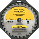 BLADE CONTRACTOR 350 X 30T 30/1 CIRCULAR SAW TCT - Power Tool Traders