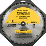 BLADE CONTRACTOR 350 X 96T 30/1 CIRCULAR SAW TCT - Power Tool Traders