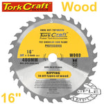 BLADE CONTRACTOR 400 X 30T 30/1 CIRCULAR SAW TCT - Power Tool Traders