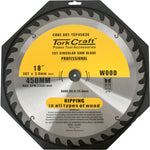 BLADE CONTRACTOR 450 X 36T 30/1 CIRCULAR SAW TCT - Power Tool Traders