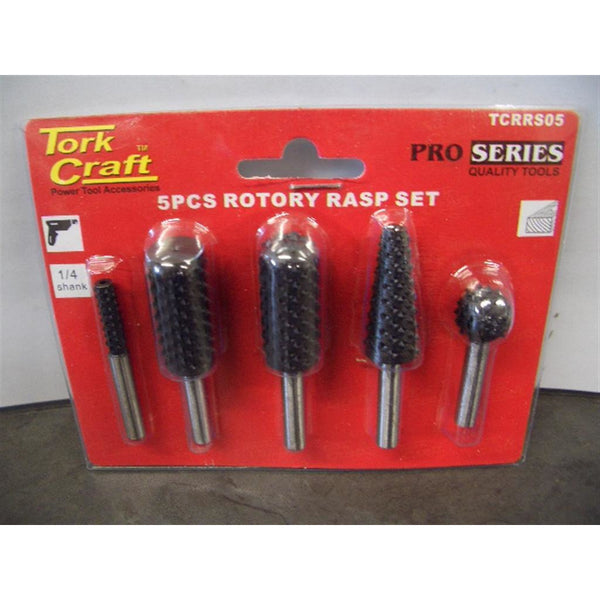 ROTARY RASP SET 5 PIECE - Power Tool Traders