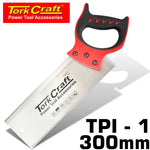 BACK SAW 300MM 12TPI 0.7MM TEMP. BLADE ABS HANDLE - Power Tool Traders