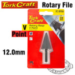ROTARY RASP V-POINT 4-14MM - Power Tool Traders