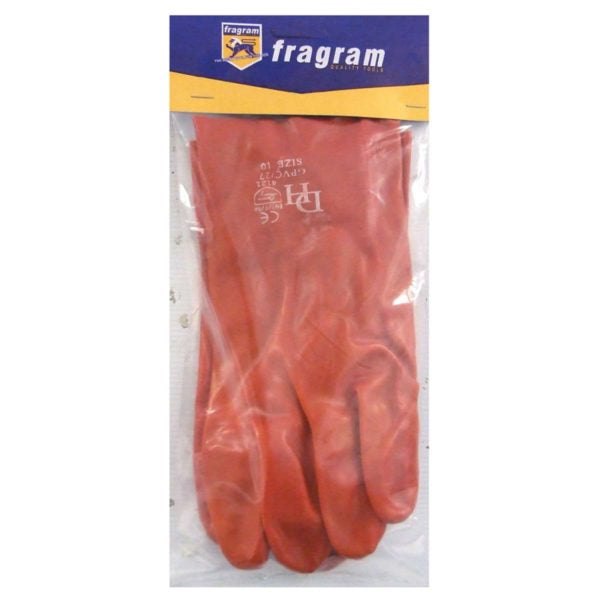 GLOVE PVC OPEN CUFF WRIST 27CM - Power Tool Traders