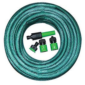 20M X12MM PVC HOSEPIPE WITH FITTINGS - Power Tool Traders