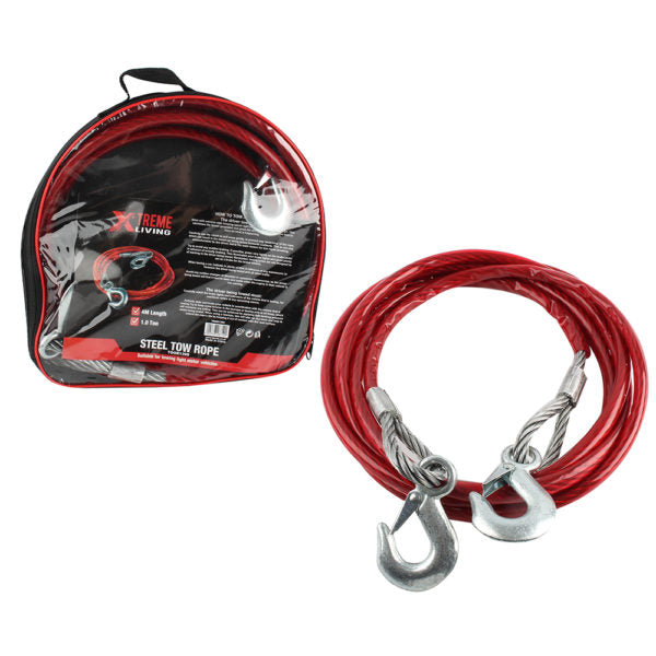 ROPE TOW STEEL 1 TON - Power Tool Traders