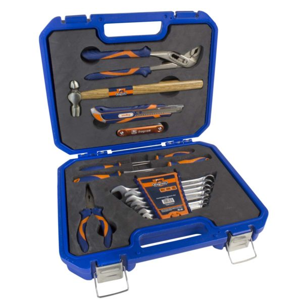TOOL KIT 23PCE IN BLUE P/CASE - Power Tool Traders
