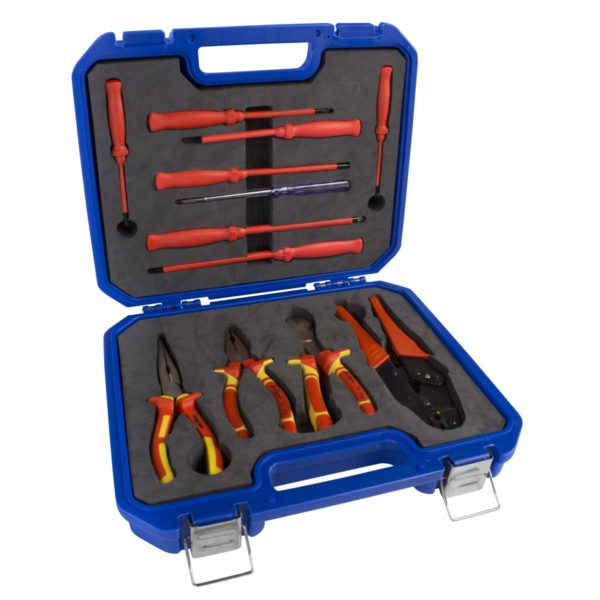 TOOL KIT 12PCE ELECTRICIAN - Power Tool Traders