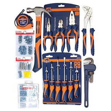 TOOL KIT DIY 17PCE HOUSE HOLD - Power Tool Traders