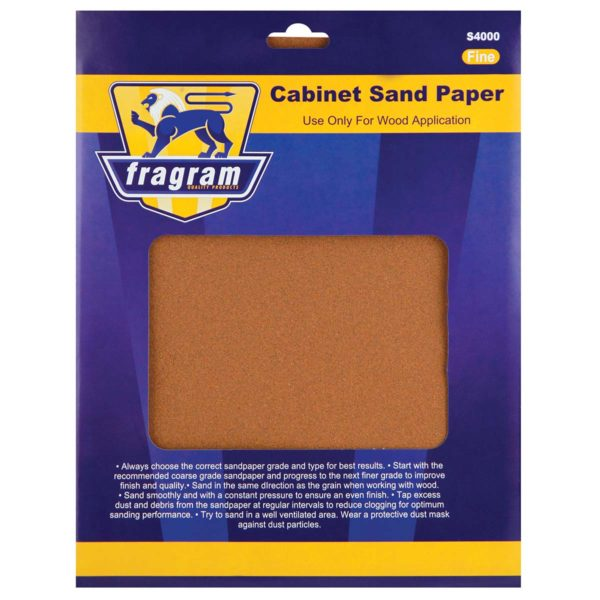 SAND PAPER CAB/FINE 150GRT 4PC - Power Tool Traders