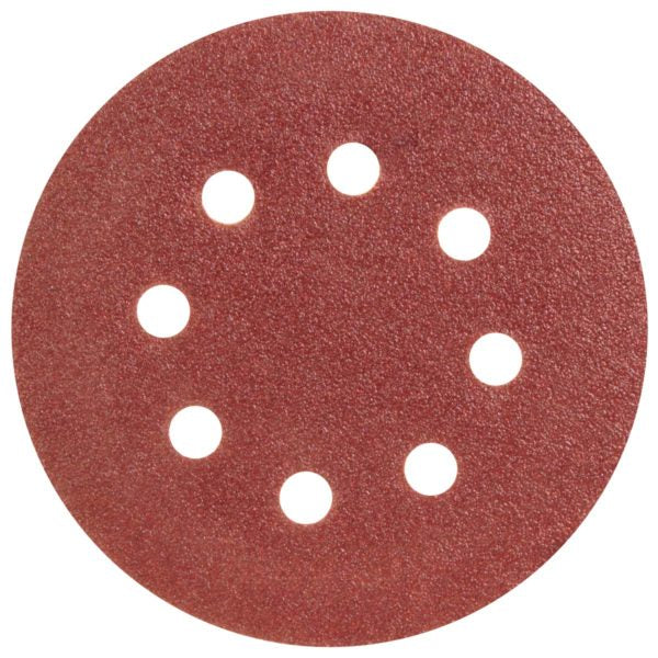 SANDING DISC 125MM-80G 5PCE - Power Tool Traders