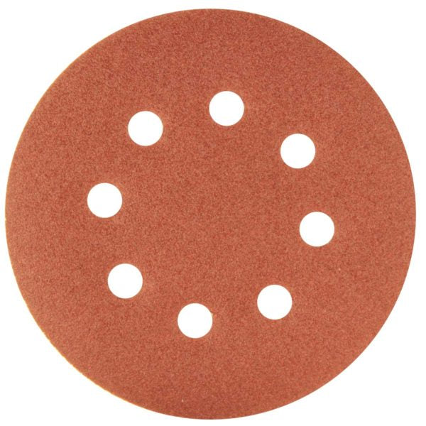 SANDING DISC 125MM-120G 5PCE - Power Tool Traders