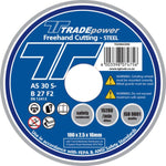 DISC CUTTING STEEL 100MM T/P - Power Tool Traders