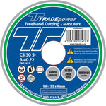 DISC CUTTING MASON 100MM T/P - Power Tool Traders