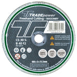 DISC CUTTING MASON 180MM T/P - Power Tool Traders