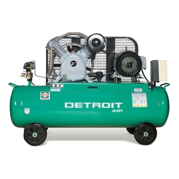 TWO STAGE AIR COMPRESSOR 5.5HP 200L 12.5 BAR 400LPM - Power Tool Traders