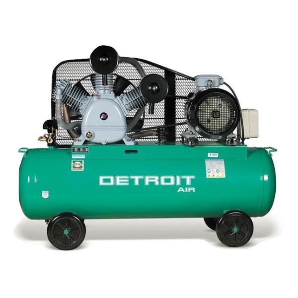 TWO STAGE AIR COMPRESSOR 15HP 340L 12.5BAR 1100LPM - Power Tool Traders
